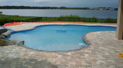 custom swimming pool safety net in Orlando fl